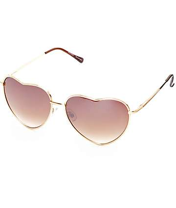 Big Luv Gold Sunglasses
