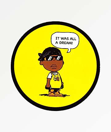 Biggie Baby Cartoon Sticker