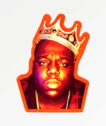 Biggie Crown Sticker