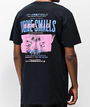 Biggie Tour Kanji Black T-Shirt