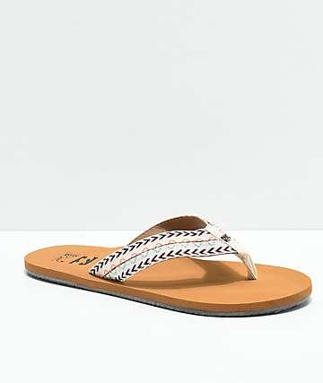 Billabong Baja sandalias blancas