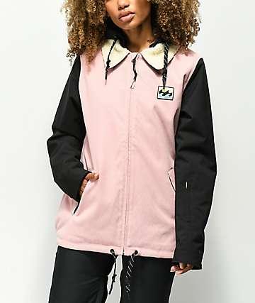 Billabong Coastal 10K chaqueta de snowboard rosa