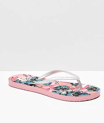 Billabong Dama chanclas rosas