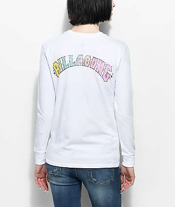 Billabong Heritage Spirit White Long Sleeve T-Shirt