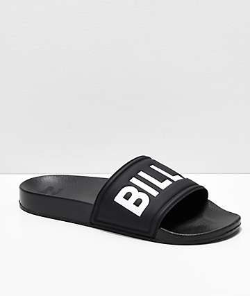 Billabong Legacy Black Slide Sandals
