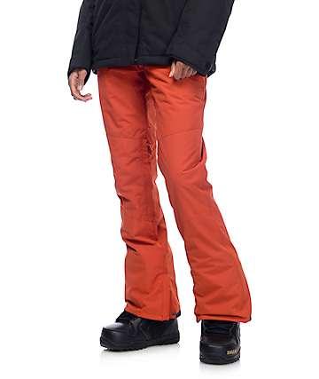 Billabong Malla Ketchup Red 10k Snowboard Pants