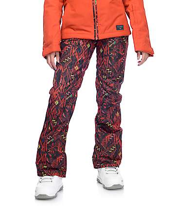 Billabong Malla Tribal Print 10K Snow Pants