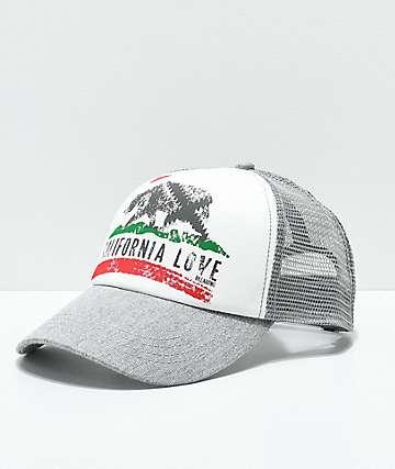 Billabong Pitstop Cali Love gorra snapback en gris