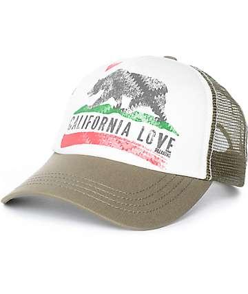Billabong Pitstop Cali Olive Snapback Hat