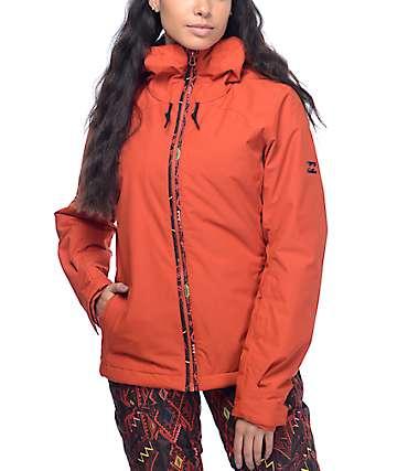 Billabong Terra Solid Red 10K Snow Jacket
