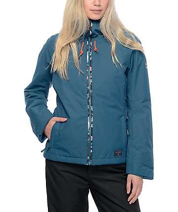 Billabong Terra Solid Teal 10K Snowboard Jacket