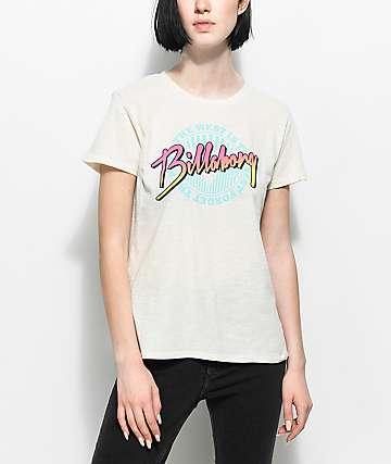 Billabong West Is Best White T-Shirt