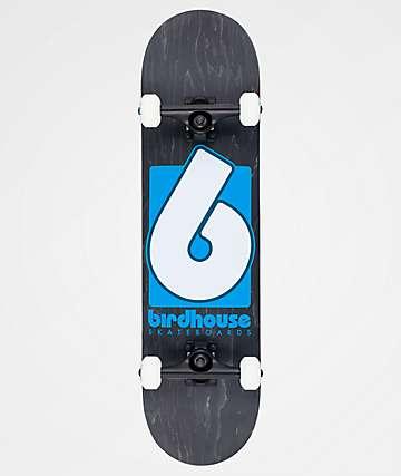 """Birdbhouse B Logo 8.0"""" Skateboard Complete"""