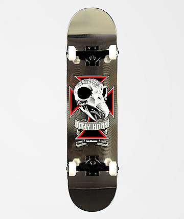 "Birdhouse Hawk Skull 2 7.75"" Skateboard Complete"