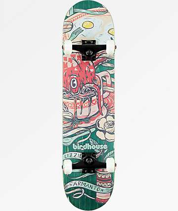 "Birdhouse Lizzie Armanto Favorites 7.75"" Skateboard Complete"