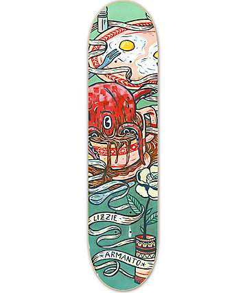 "Birdhouse Lizzie Armanto Favorites 8.0"" Skateboard Deck"