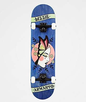 """Birdhouse Lizzie Butterfly 8.0"""" Skateboard Complete"""