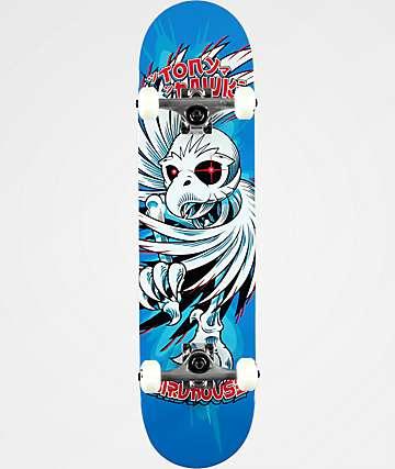 "Birdhouse Spiral Tony Hawk 7.75"" Skateboard Complete"