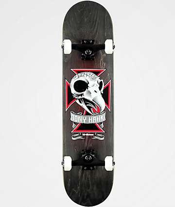 "Birdhouse Tony Hawk Skull II 7.75"" Skateboard Complete"