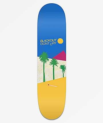"""Blackout Cure 8.0"""" Skateboard Deck"""
