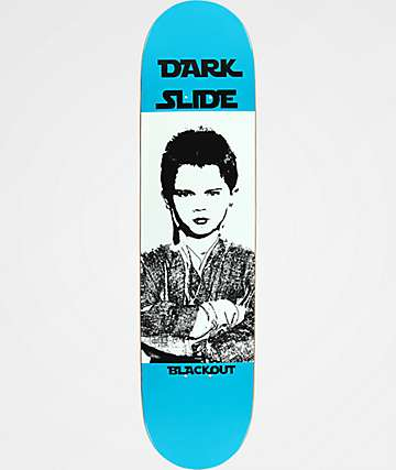 "Blackout Dark Slide 7.75"" Skateboard Deck"