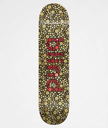 "Blind Color Blind 8.25"" Army Green Skateboard Deck"