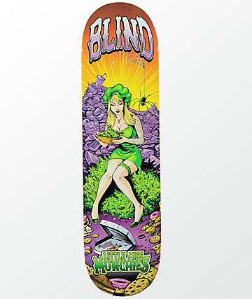 "Blind Miss Munchies 8.25"" Skateboard Deck"
