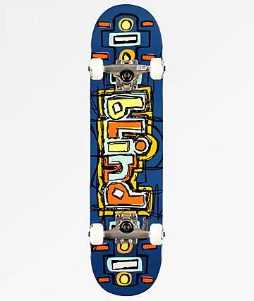 "Blind OG Design 7.25"" Navy Skateboard Complete"