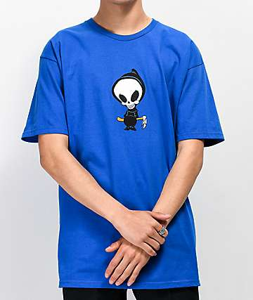 Blind Reaper Icon Blue T-Shirt
