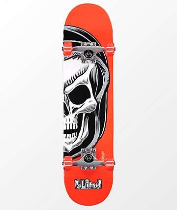 """Blind Reaper Split 7.25"""" Skateboard Complete"""