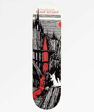 "Blood Wizard Gregson Castlebasas 8.5"" tabla de skate"