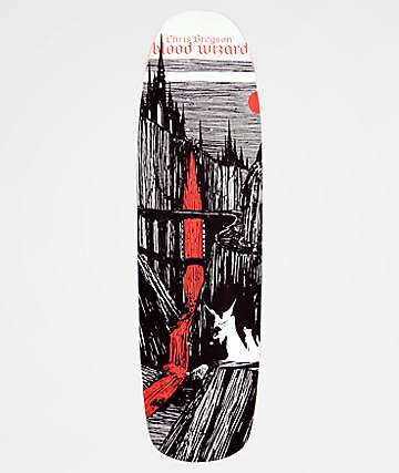 "Blood Wizard Gregson Castlebasas 8.88"" Skateboard Deck"