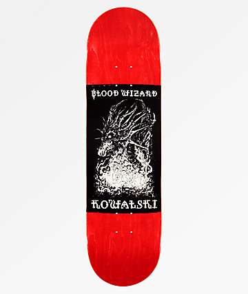 "Blood Wizard Kowalski 8.5"" Skateboard Deck"