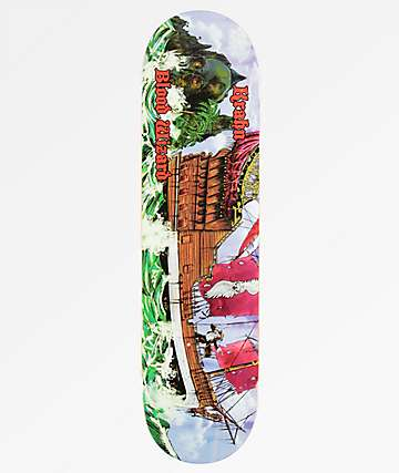 "Blood Wizard Krahn Warship 8.125"" Skateboard Deck"