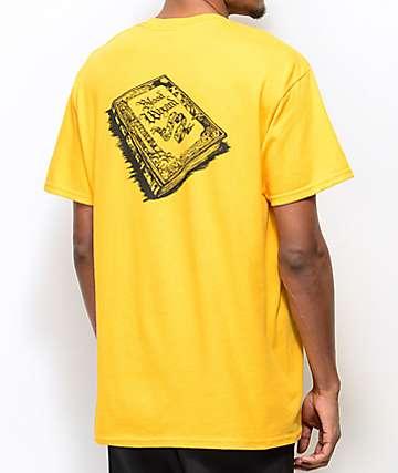 Blood Wizard Storybook camiseta dorada