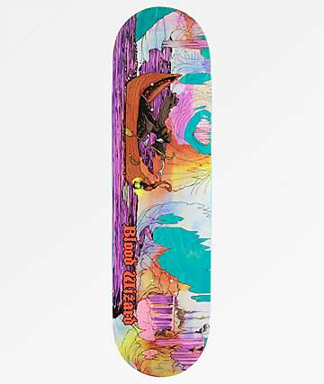 "Blood Wizard Warship 8.375"" Skateboard Deck"