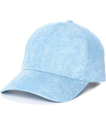 Blue Cloud Wash Baseball Hat