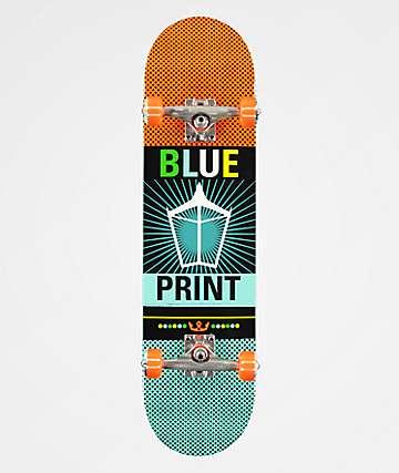 "Blueprint Pachinko 8.0"" Skateboard Complete"