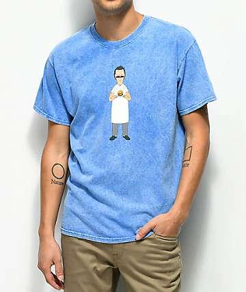 Bob's Burgers x Habitat Offering camiseta azul