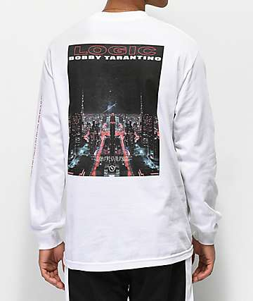 Bobby Tarantino by Logic Live It Up White Long Sleeve T-Shirt