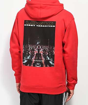 Bobby Tarantino by Logic Love It Up sudadera con capucha roja