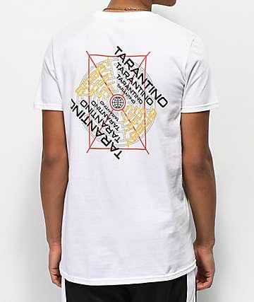 Bobby Tarantino by Logic Maze White T-Shirt