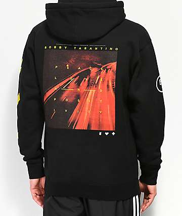 Bobby Tarantino by Logic Peace, Love & Positivity Black Hoodie