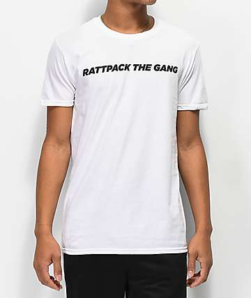 Bobby Tarantino by Logic Rattpack White T-Shirt