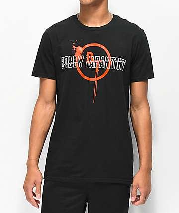Bobby Tarantino by Logic Splat Black T-Shirt