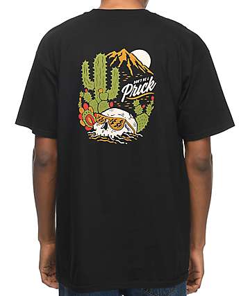 Bohnam Don't Be A Cactus Black T-Shirt
