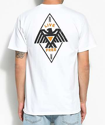 Bohnam Hawkeye White T-Shirt