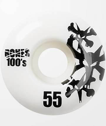 Bones 100's Natural 55mm ruedas de skate