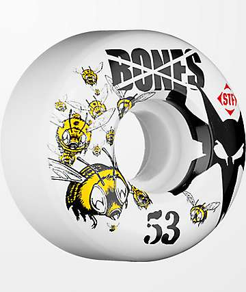Bones Army 53mm STF Skateboard Wheels