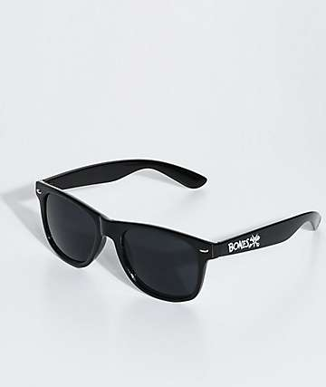 Bones Black Sunglasses